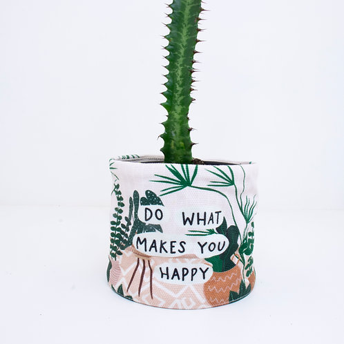 PLANTER | Do What Makes you Happy | 10cm