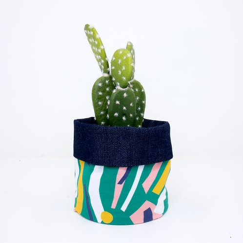 PLANTER | Flower Bed Denim | 10cm