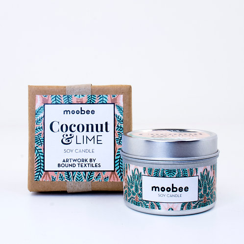 Designer Soy Candle | Coconut & Lime