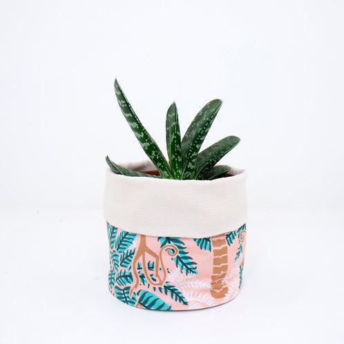 PLANTER | Palm Trees & Monkeys | 10cm
