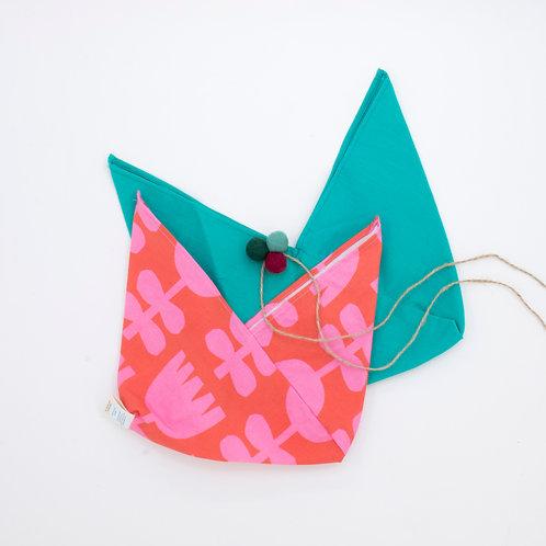 Reusable Gift Wrap Bag | Duo Pack | Scandi