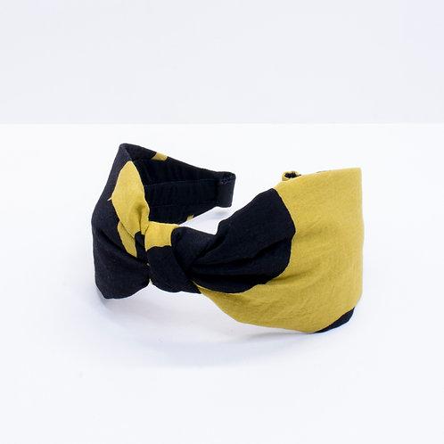 Headband   Mustard Spot