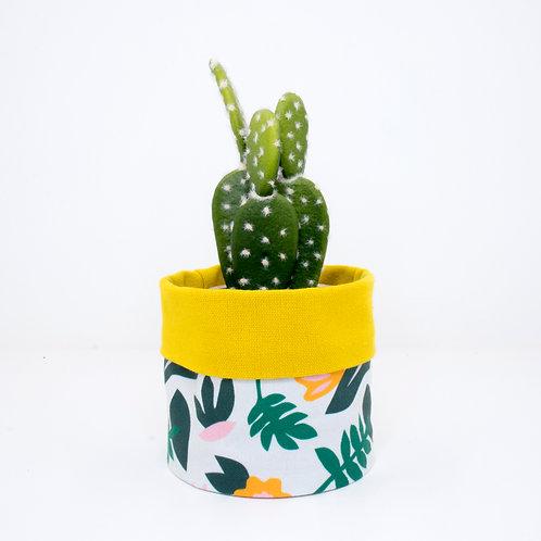 PLANTER | Leafy Yellow | 10cm