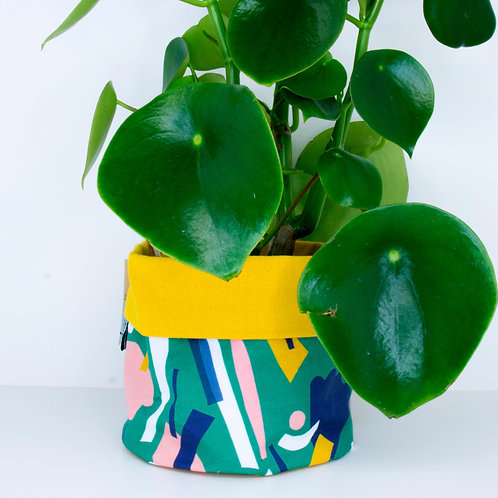 PLANTER | Abstract Flowerbed | 14cm