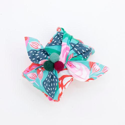 Reusable Gift Wrap Bag | Papercut Floral