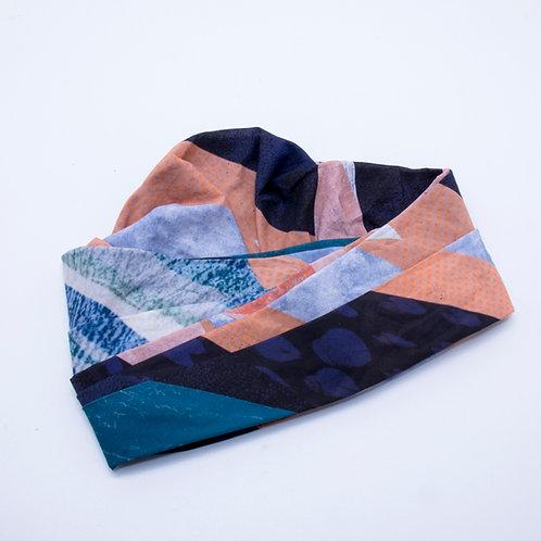 Collage Scene by Bound Textiles | Cotton Lawn