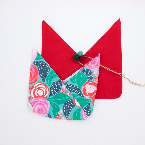 Reusable Gift Wrap Bag | Duo Pack | Papercut Floral