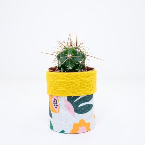 PLANTER | Leafy Yellow | Mini