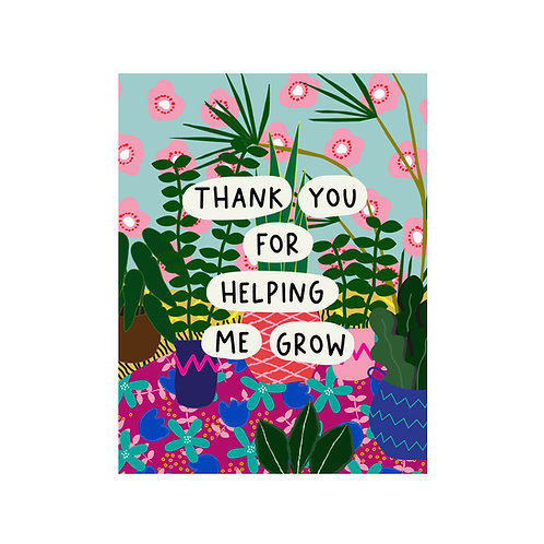 3 PACK | Greeting Card - Thank You