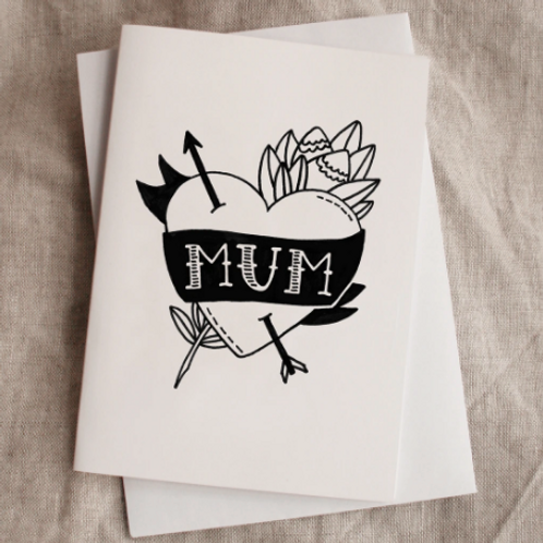 Mum Card | by The Art Room