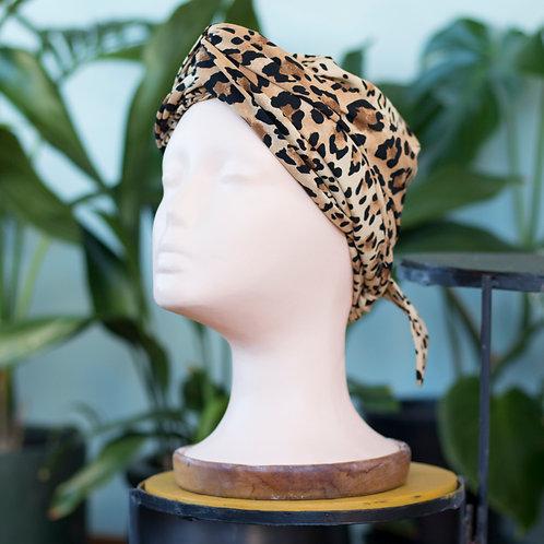 Easy Tie Printed Turban