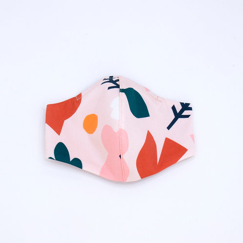 FACEMASK | Medium | Pink Lining