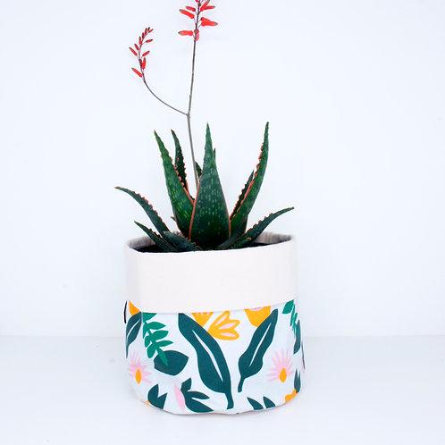PLANTER | Leafy Pattern | 14cm