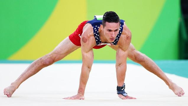 Olympian Alex Naddour