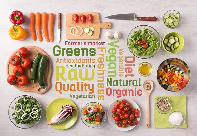 alimentação natural orgânica vegetais frutas