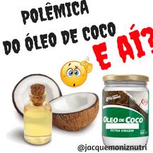 Vai usar o polêmico ÓLEO DE COCO?