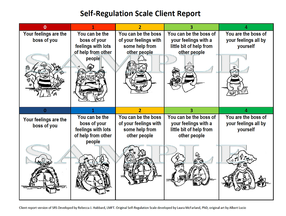 self-regulation scale