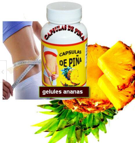 L'ananas a été utilisé pour aider à la rétention d'eau et à réduire les fringale