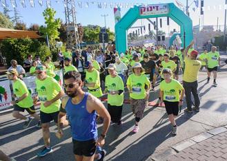 Hosted the annual Efrat Gush Etzion Half Marathon