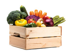 DISCOVER THE VEGGIE STAND