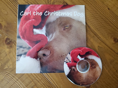 Carl the Christmas Dog - book and DVD