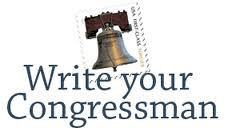 Write Your Congressmen Now