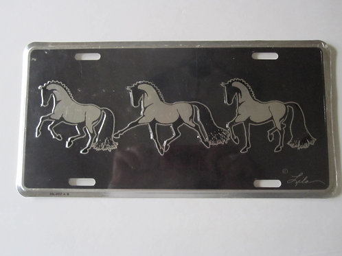 Horse License Plates