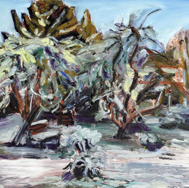 Sarjasta Puutarhasommitelmia, Talvi (From the Series Garden Studies,Winter), 2020