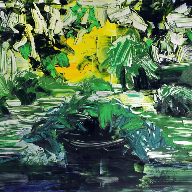Sarjasta Puutarhasommitelmia, Kesä (From the Series Garden Studies, Summer), 2020