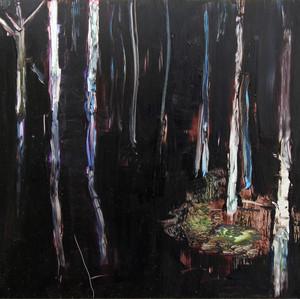 Metsä yöllä III (Forest at Night III), 2015