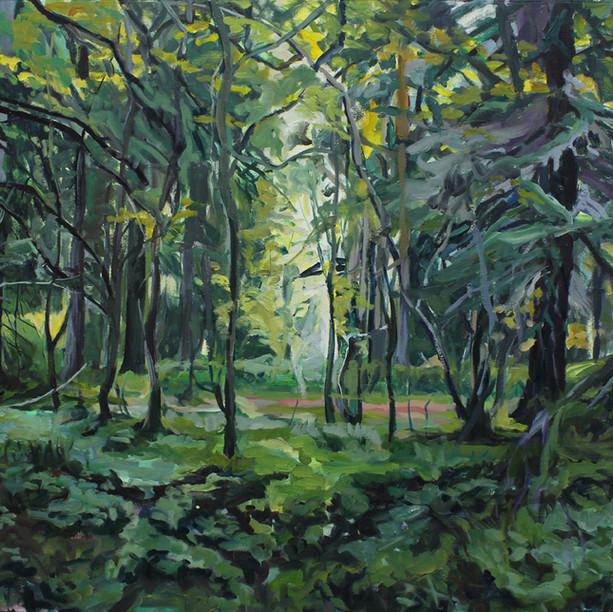 Metsämaisema (Forest Landscape), 2015