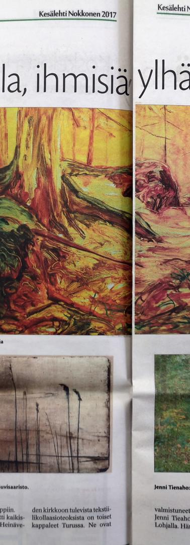 Taidemaalariliiton kesänäyttely, Heinävesi