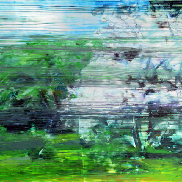 Sarjasta Puutarhasommitelmia, Kevät (From the Series Garden Studies, Spring), 2020