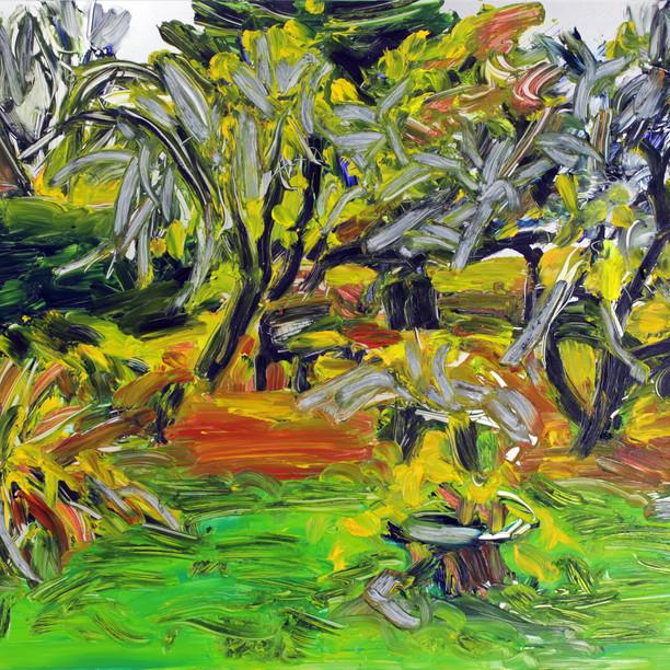 Sarjasta Puutarhasommitelmia, Syksy (From the Series Garden Studies, Autumn), 2020