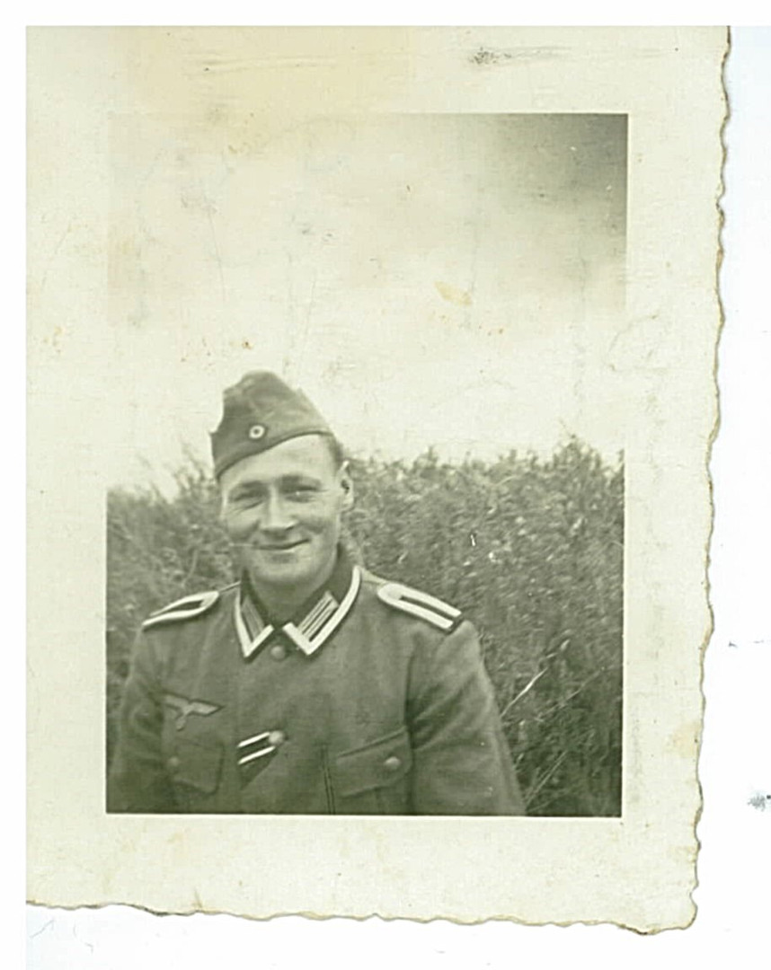 Andreas Kremser was drafted into the German Army in 1939...