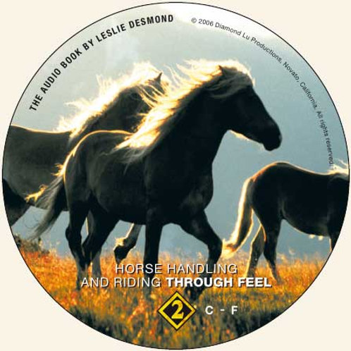 """CD 2 ONLY """"Horse Handling and Riding Through Feel"""""""
