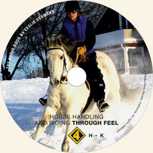 """CD 4 ONLY """"Horse Handling and Riding Through Feel"""""""