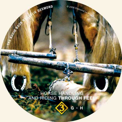 "CD 3 ONLY ""Horse Handling and Riding Through Feel"""