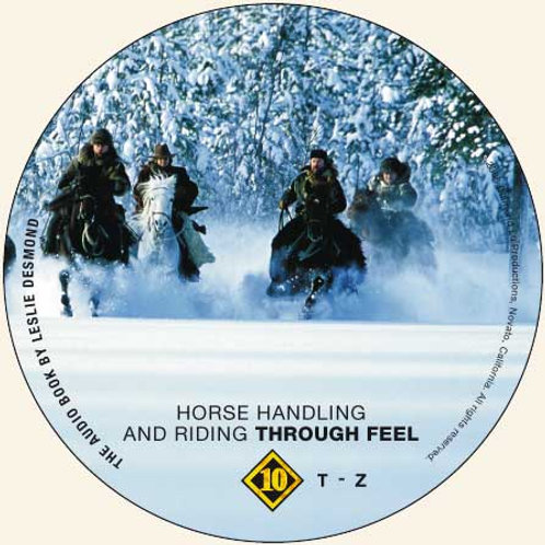 "CD 10 ONLY ""Horse Handling and Riding Through Feel"""