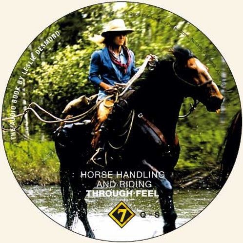 "CD 7 ONLY ""Horse Handling and Riding Through Feel"""