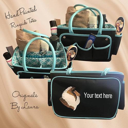 Grooming ringside tote bag