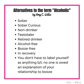 """What to Say When Saying """"Alcoholic"""" Doesn't Feel Right"""