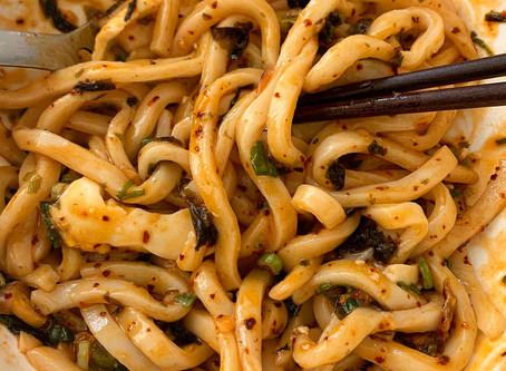 Easy meal ideas: mazesoba with LG Udon