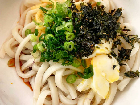Udon in Mazesoba Style Recipe