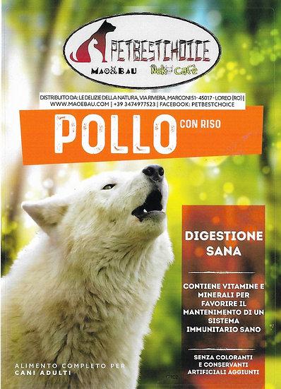 PETBESTCHOICE SUPERPREMIUM Adult  Pollo 29% e Riso