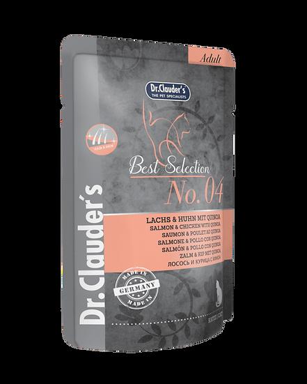 Dr Clauder's Best Selection – 04 Salmone e Pollo con Quinoa