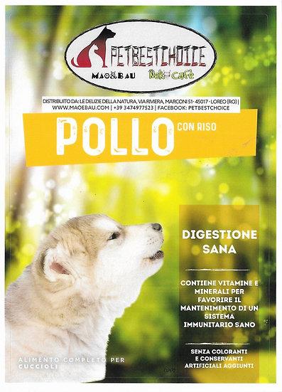 PETBESTCHOICE SUPERPREMIUM Puppy Pollo 38% e Riso