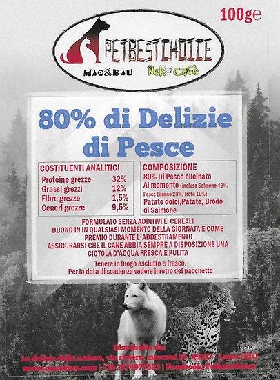 Delizie Di Pesce 80% Senza Cereali gr100