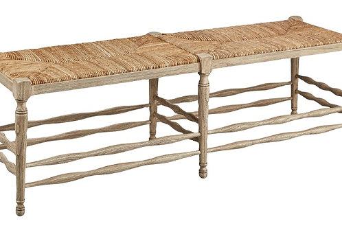 Oak Reed Bench