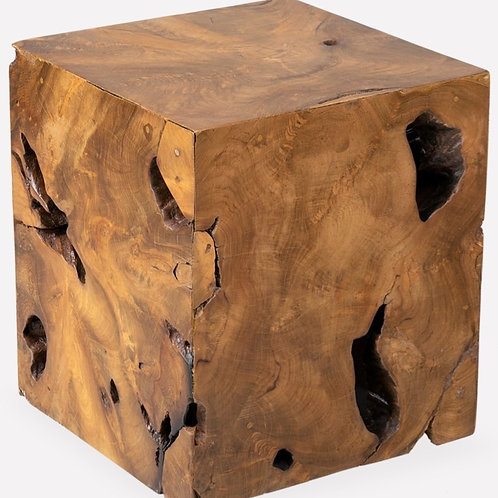 Burl Organic Side Table